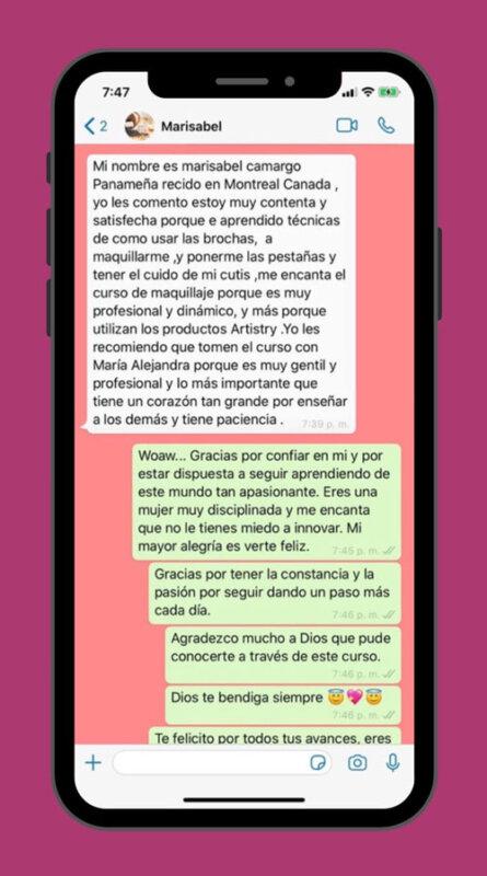 testimonio de Marisabel